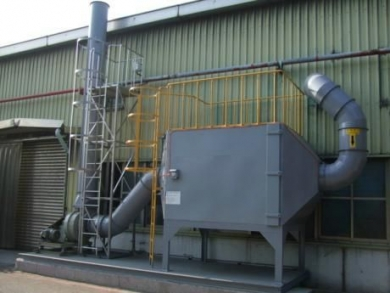 广州有机废气活性炭吸附塔
