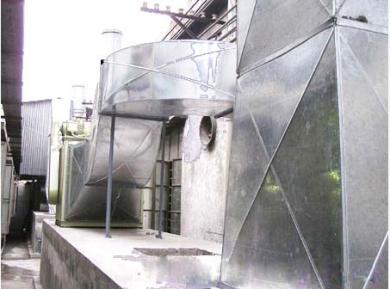 工业厂房排气